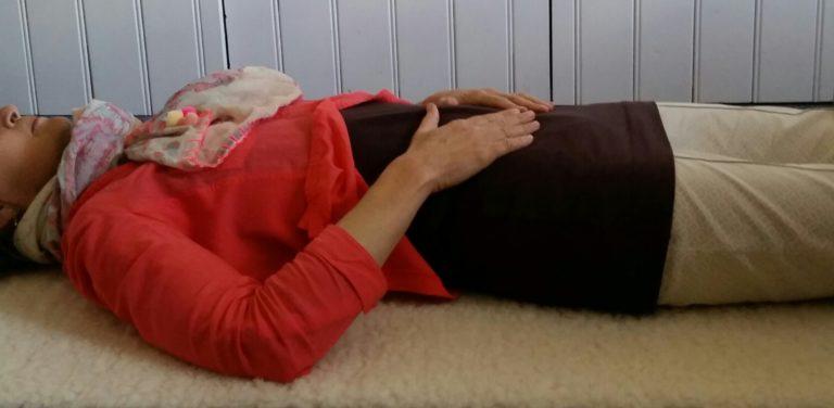 yoga nidra als onderdeel van de hormoonyoga